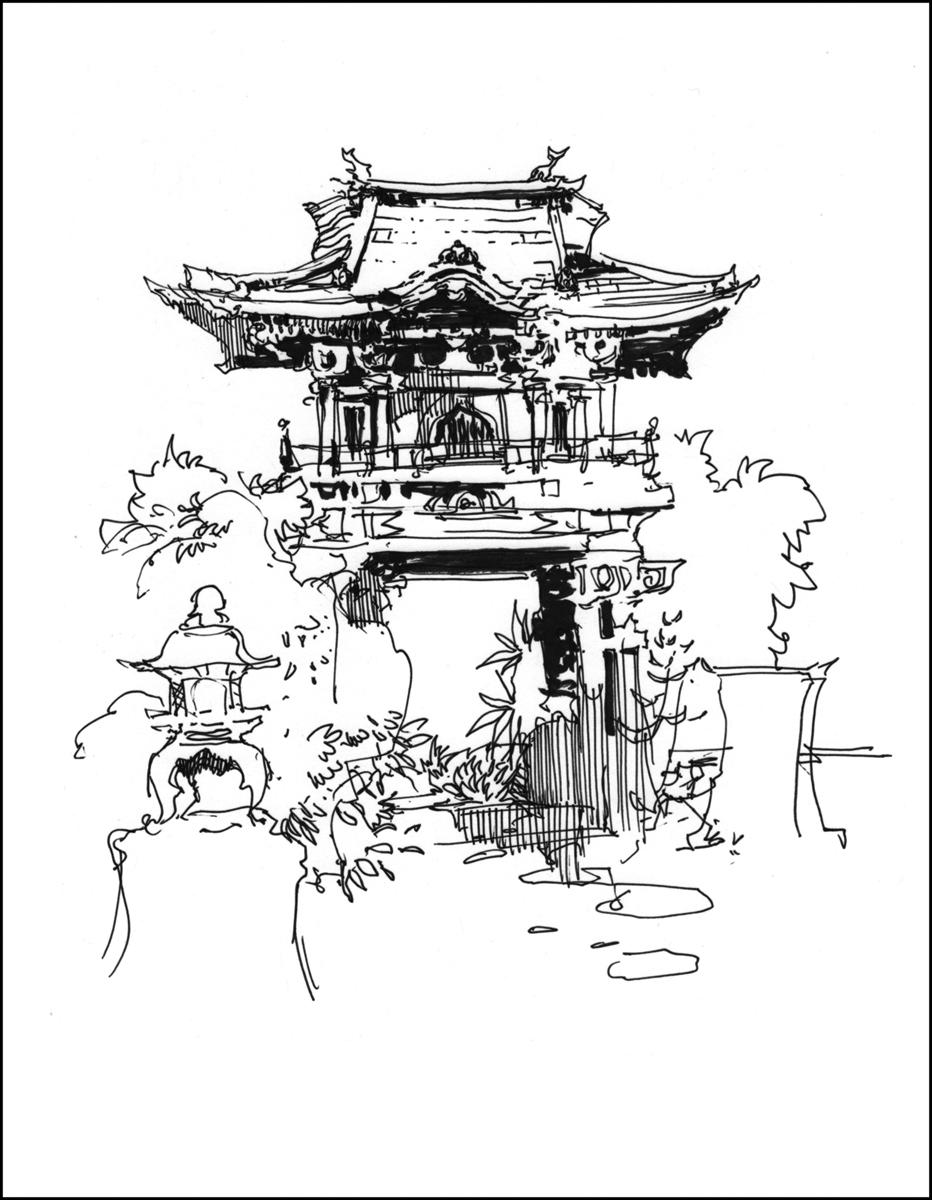 japanese garden return trip