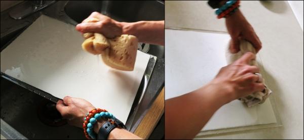 Shari Blaukopf Wet in Wet Watercolor Demo Step (1)