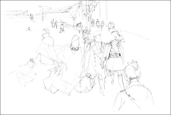 En Passant 01_Pencil