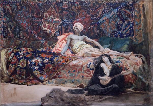Henri_Regnault_Hassan_and Namouna_1870