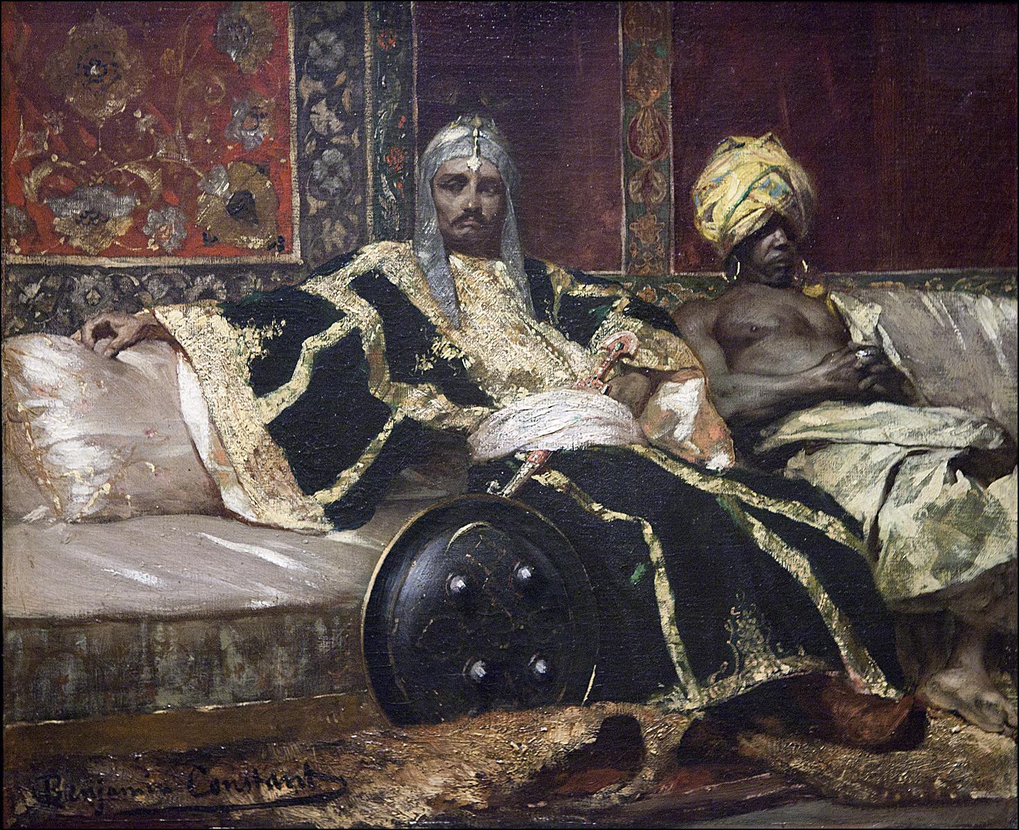 Ipad sketching marvels of orientalism at mtl beaux arts for Art et artiste