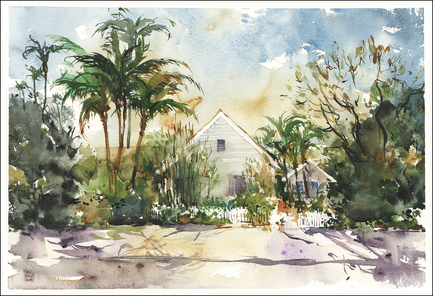 I Could Get Used To Living In Key West Citizen Sketcher