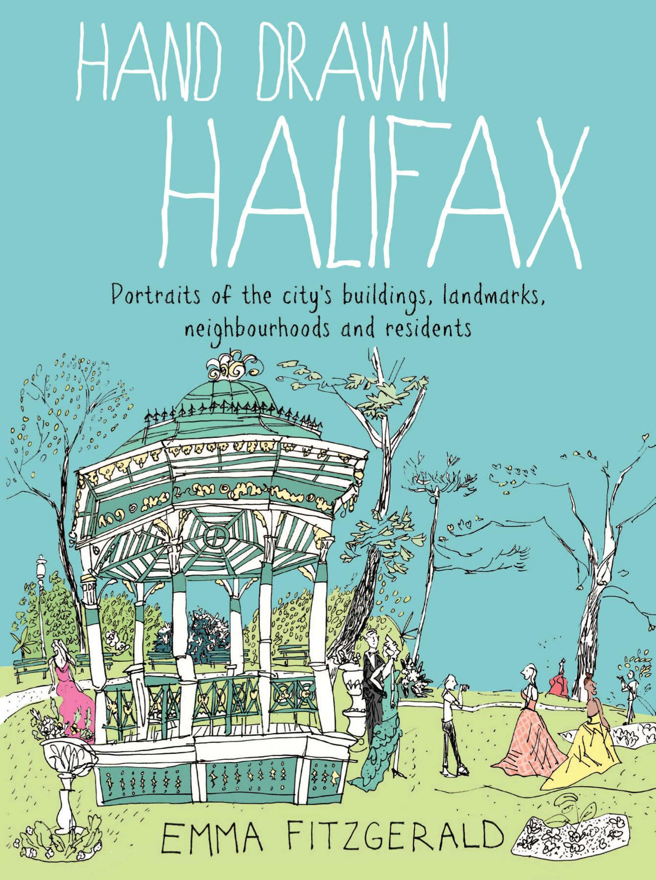Book Review: Emma FitzGerald\'s Hand Drawn Halifax   Urban Sketchers