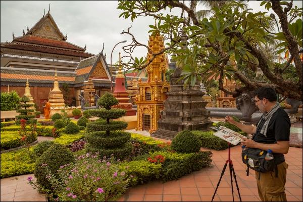 15Jul30_Cambodia_Siem Reap_Wat Prea Prom Rath_Photo (1)