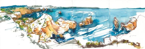 Portugal_Ink Pano05B_Cape St_Vincent_Sagres
