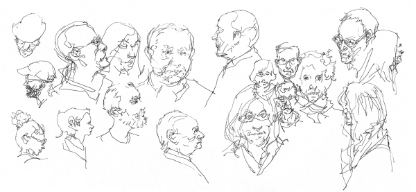 Manchester People Sketching 04
