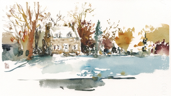 16dec13_winter_sketching_watercolor_montreal_notre-dame-des-neiges-cemetery_caretaker