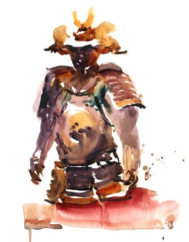 USK_Workshop 2017_Brush Drawing_Marc Taro Holmes_Example_03_Samurai