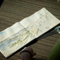 Laurel Anne Holmes_USK Chicago_2017_Instructor Sketching_Joel_Detail