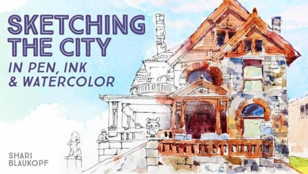 sketchingthecityinpeninkandwatercolor_titlecard_cid6838