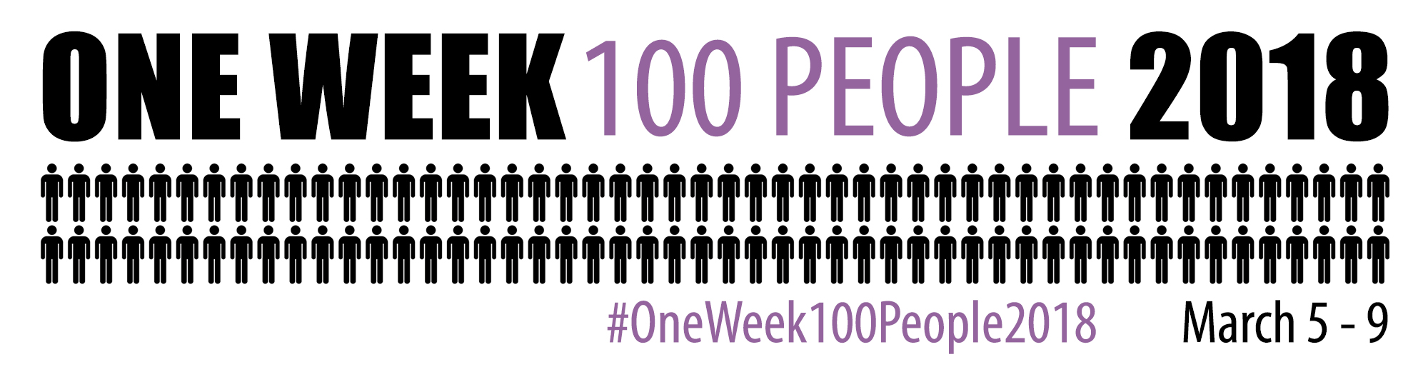#oneweek100people2018