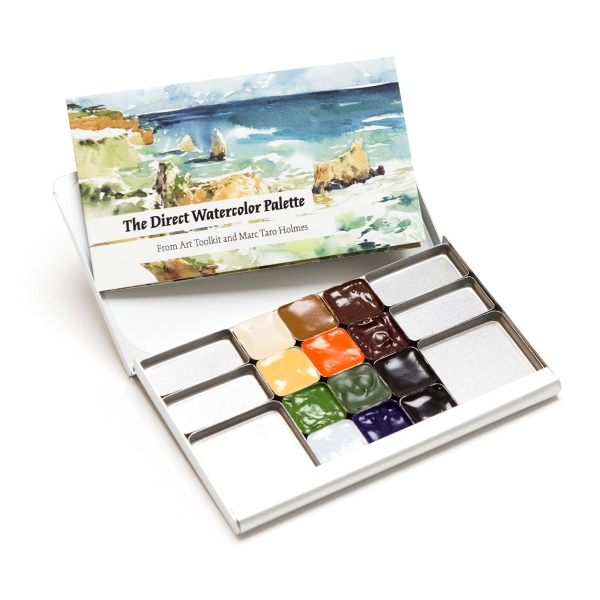 The Direct Watercolor Palette From Art Toolkit Com