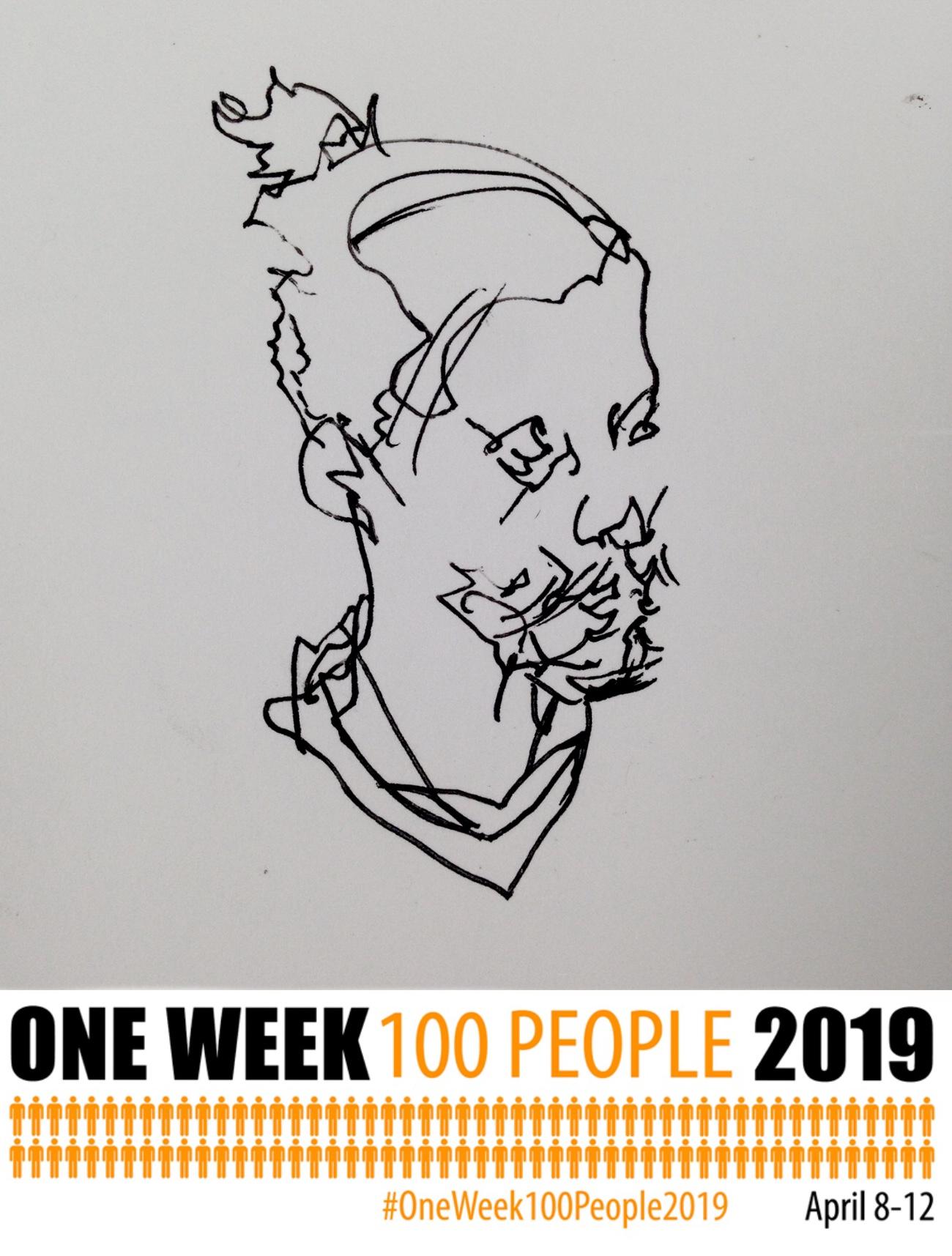 #OneWeek100People2019 : Flight Check?