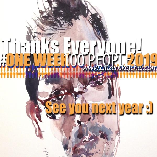 #OneWeek100People2019_Endgame